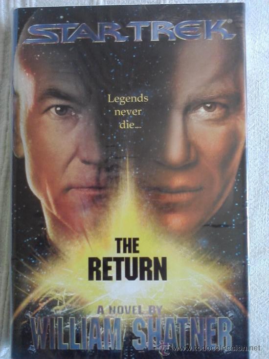STAR TREK: THE RETURN (TAPA DURA EN INGLES) (Libros de Segunda Mano (posteriores a 1936) - Literatura - Narrativa - Ciencia Ficción y Fantasía)
