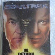 Libros de segunda mano: STAR TREK: THE RETURN (TAPA DURA EN INGLES). Lote 32647040