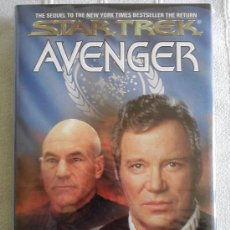 Libros de segunda mano: STAR TREK: AVENGER, (TAPA DURA EN INGLES). Lote 32647107