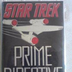 Libros de segunda mano: STAR TREK: PRIME DIRECTIVE (TAPA DURA, EN INGLES). Lote 32647368