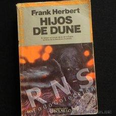 Libros de segunda mano: HIJOS DE DUNE - FRANK HERBERT - VOL. III - HITO DE LA CIENCIA FICCIÓN - COLECCIÓN ULTRAMAR LIBRO. Lote 32718531