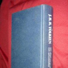 Libros de segunda mano: EL SILMARILLION .TOLKIEN 1ª EDICION 1984 .EDICIONES MINOTAURO .CON MAPA DESPLEGABLE. Lote 40779290
