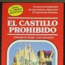 Libros de segunda mano: EL CASTILLO PROHIBIDO - EDWARD PACKARD. ELIGE TU PROPIA AVENTURA Nº 10 - TIMUN MAS. . Lote 58194951
