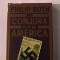 Libros de segunda mano: LA CONJURA CONTRA AMÉRICA - PHILIP ROTH. Lote 33036199