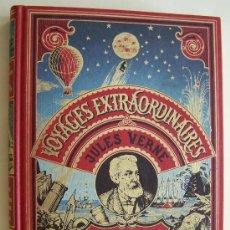 Libros de segunda mano: JULIO VERNE 1981 LE CHATEAU DES CARPATHES UN DRAME AU MEXIQUE ILUSTRACIONES ORIGINALES DE 1ª EDICION. Lote 33042157