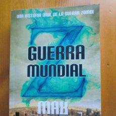 Libros de segunda mano: LIBRO GUERRA MUNDIAL Z (2006) DE MAX BROOKS. NUEVO. PELÍCULA DE BRAD PITT. Lote 33212813
