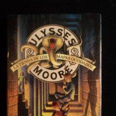 Libros de segunda mano: ULYSSES MOORE. LA TIENDA DE LOS MAPAS OLVIDADOS. ED. MONTENA 2007 199 PAG. Lote 33752274