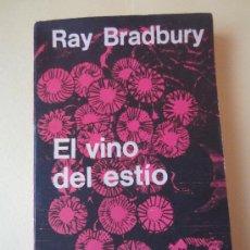 Libros de segunda mano: EL VINO DEL ESTIO- RAY BRADBURY -MINOTAURO. Lote 34055117