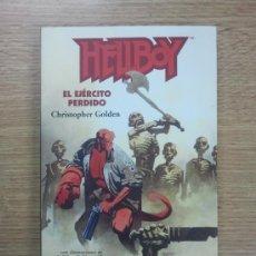 Libros de segunda mano: HELLBOY EL EJERCITO PERDIDO (BRAINSTORMING #6 - CHRISTOPHER GOLDEN). Lote 34235187