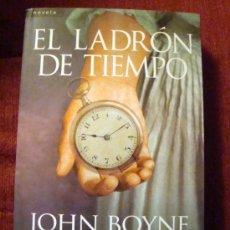 Libros de segunda mano: LIBRO DE JOHN BOYNE- EL LADRÓN DE TIEMPO-SALAMANDRA 1ª EDICIÓN 2011. Lote 34606244