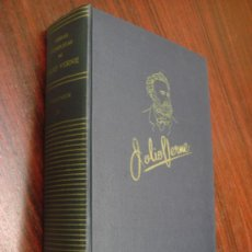 Libros de segunda mano: OBRAS COMPLETAS DE JULIO VERNE. TOMO IV, 1957. . Lote 34675060