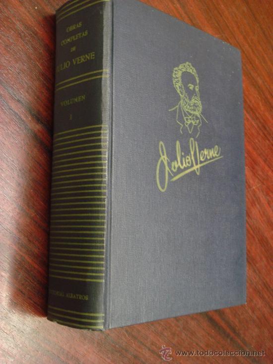 OBRAS COMPLETAS DE JULIO VERNE. TOMO I, 1955. (Libros de Segunda Mano (posteriores a 1936) - Literatura - Narrativa - Ciencia Ficción y Fantasía)
