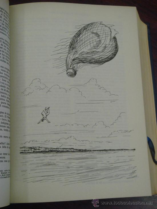 Libros de segunda mano: OBRAS COMPLETAS DE JULIO VERNE. Tomo II, 1956 - Foto 4 - 34675141