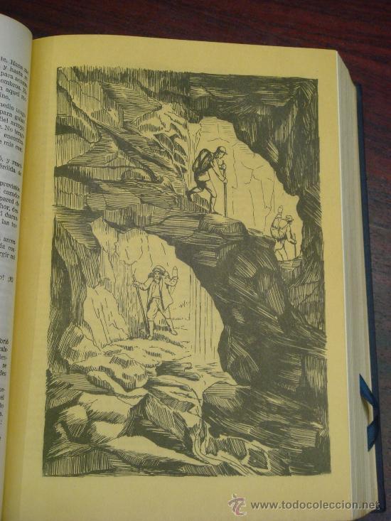 Libros de segunda mano: OBRAS COMPLETAS DE JULIO VERNE. Tomo III, 1957. - Foto 4 - 34675100