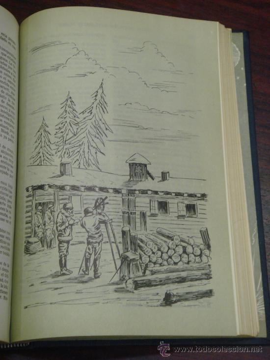 Libros de segunda mano: OBRAS COMPLETAS DE JULIO VERNE. Tomo III, 1957. - Foto 8 - 34675100