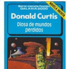Libros de segunda mano: DONALD CURTIS - DIOSA DE MUNDOS PERDIDOS - FORUM 1985 - NUEVA DE STOCK DE QUIOSCO A ESTRENAR !!!!. Lote 34743333