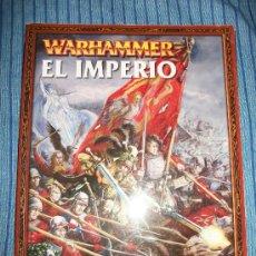 Libros de segunda mano: WARHAMMER - EL IMPERIO - GAMES WORKSHOP - 2006 - 96 PAGS. Lote 35552742