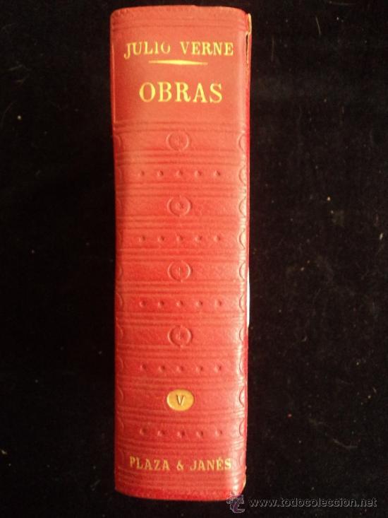 JULIO VERNE. OBRAS. PLAZA Y JANES. TOMO V. (Libros de Segunda Mano (posteriores a 1936) - Literatura - Narrativa - Ciencia Ficción y Fantasía)