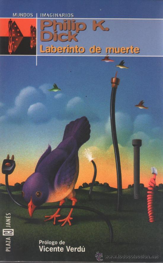 PLAZA & JANESLABERINTO DE MUERTEPHILIP K. DICK (Libros de Segunda Mano (posteriores a 1936) - Literatura - Narrativa - Ciencia Ficción y Fantasía)