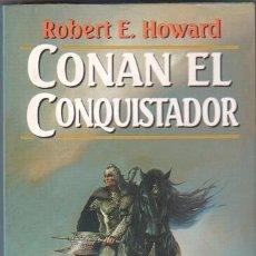Libros de segunda mano: SAGA CONAN Nº 12-COLECCION FANTASY MARTINEZ ROCA 1996-Nº 55-CONAN EL CONQUISTADOR, ROBERT E.HOWARD. Lote 207130988