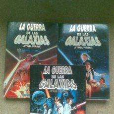 Libros de segunda mano: LA GUERRA DE LAS GALAXIAS: STAR WARS (1994). MARTINEZ ROCA. TRILOGÍA COMPLETA.. Lote 36961960