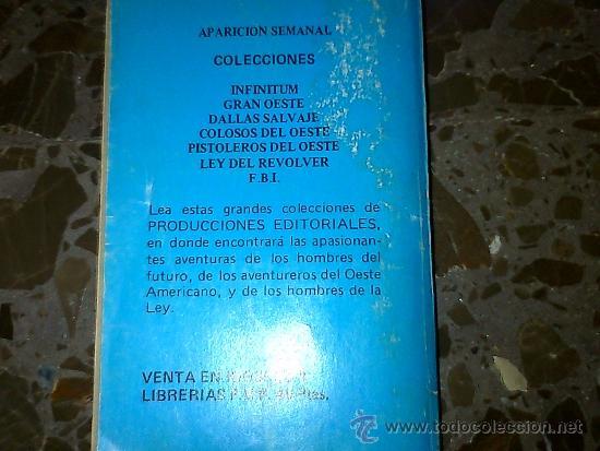 Libros de segunda mano: LOS SUPERHOMBRES. LUCKY MARTY. COLECCIÓN INFINITUM. PRODUCCIONES EDITORIALES. 1980 - Foto 3 - 37180668