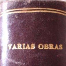 Libros de segunda mano: VARIAS OBRAS. Lote 38403943