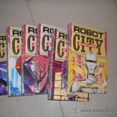 Libros de segunda mano: MOLINO. ROBOT CITY ISAAC ASIMOV LOTE DE 6 TOMOS O SUELTOS. ESTAN SIN LEER. Lote 38540570