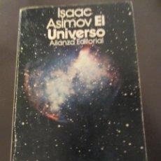 Libros de segunda mano: EL UNIVERSO- ISAAC ASIMOV- ALIANZA EDITORIAL. Lote 39301069