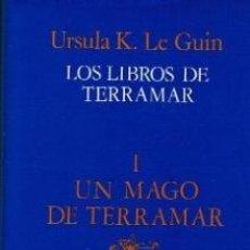 Libros de segunda mano: CIENCIA FICCION. MINOTAURO LOS LIBROS DE TERRAMAR. UN MAGO DE TERRAMAR-IURSULA LE GUIN. Lote 39360949