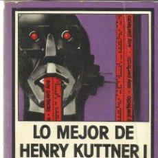 Libros de segunda mano: LO MEJOR DE HENRY KUTTNER I. EDHASA. BARCELONA. 1979. Lote 39432035
