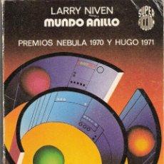Libros de segunda mano: MUNDO ANILLO - LARRY NIVEN. Lote 40038591