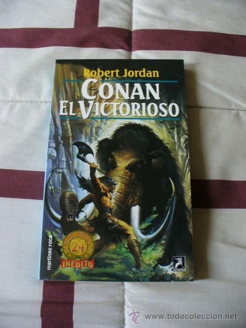 CONAN EL VICTORIOSO - ROBERT JORDAN - NUEVO (Libros de Segunda Mano (posteriores a 1936) - Literatura - Narrativa - Ciencia Ficción y Fantasía)