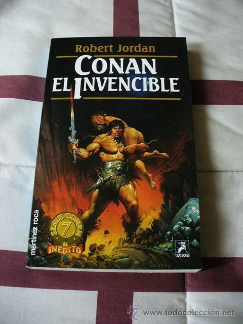 CONAN EL INVENCIBLE - ROBERT JORDAN - NUEVO (Libros de Segunda Mano (posteriores a 1936) - Literatura - Narrativa - Ciencia Ficción y Fantasía)