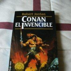 Libros de segunda mano: CONAN EL INVENCIBLE - ROBERT JORDAN - NUEVO. Lote 40335862