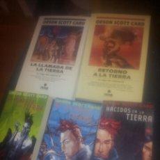 Libros de segunda mano: SAGA DEL RETORNO. COMPLETA 5 LIBROS. ORSON SCOTT CARD. Lote 40430777