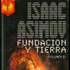 Libros de segunda mano: FUNDACION Y TIERRA - ISAAC ASIMOV. Lote 40655943
