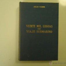 Libros de segunda mano: VEINTE MIL LEGUAS DE VIAJE SUBMARINO. Lote 41053912
