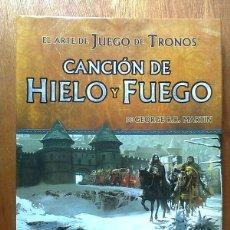 Libros de segunda mano: EL ARTE DE JUEGO DE TRONOS VOLUMEN 1, CANCION DE HIELO Y FUEGO, GEORGE R. R. MARTIN, EDGE, 2011. Lote 41182597