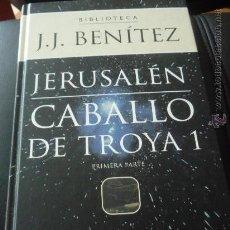 Libros de segunda mano: BIBLIOTECA JJ BENITEZ. CABALLO DE TROYA 1.PLANETA AGOSTINI.. Lote 36839866