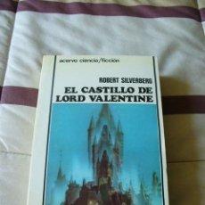 Libros de segunda mano: EL CASTILLO DE LORD VALENTINE (EDICIÓN INTEGRA) - ROBERT SILVERBERG - NUEVO. Lote 145789820