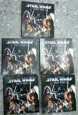 THE OFFICIAL STAR WARS. FACT FILE. (5 ARCHIVADORES). A-LITFAN-0084 (Libros de Segunda Mano (posteriores a 1936) - Literatura - Narrativa - Ciencia Ficción y Fantasía)