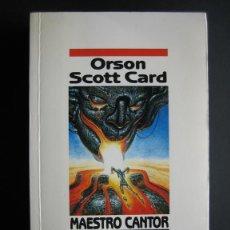 Libros de segunda mano: MAESTRO CANTOR - ORSON SCOTT CARD - NOVA - EDICIONES B. Lote 42806836