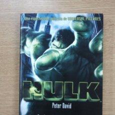 Libros de segunda mano: HULK (ADAPTACION DE LA PELICULA POR PETER DAVID) (ALBERTO SANTOS). Lote 42833185