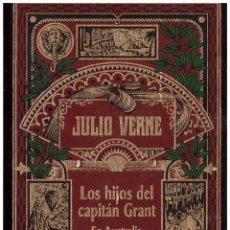 Libros de segunda mano: NOVELA LOS HIJOS DEL CAPITAN GRANT EN AUSTRALIA - JULIO VERNE; ED. RBA (AÑO 2002). Lote 42837833