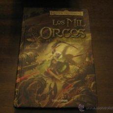 Libros de segunda mano: LOS MIL ORCOS - LAS ESPADAS DEL CAZADOR - R.A. SALVATORE - TIMUN MAS. Lote 42854389