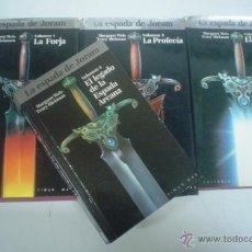 Libros de segunda mano: MARGARET WEIS, TRACY HICKMAN: LA ESPADA DE JORAM. (COMPLETA EN 4 VOLS.). Lote 42953047