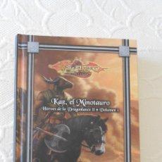 Libros de segunda mano: COLECCION ALTAYA.KAZ,EL MINOTAURO.HEROES DE LA DRAGONLANCE II.VOLUMEN 1. Lote 43060542