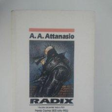 Libros de segunda mano: NOVA CIENCIA FICCION RADIX ATTANASIO. Lote 43163686