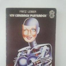 Libros de segunda mano: MARTINEZ ROCA SUPER FICCION CIENCIA FICCION LOS CEREBROS PLATEADOS FRITZ LEIBER . Lote 43164004